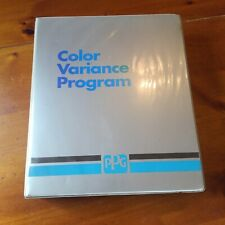 PPG VARIANCE PROGRAM CASE 20 PAINT CHIP RINGS TOYOTA FORD GM MAZDA 90-93