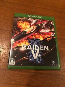 Raiden V Limited edition sound track  Import Japan Xbox One Japanese