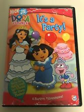 Dora the Explorer - Its a Party (DVD, 2005, Canadian French)