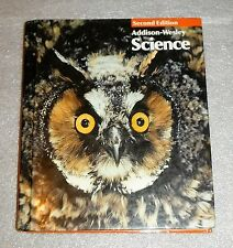 Addison Wesley Science 4 Textbook 2nd Edition 1992 HC Life Physical Earth Health
