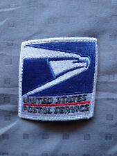 "UNITED STATES POSTAL SERVICE U.S. MAIL 1 USPS BLUE AND WHITE PATCH 2"" BY 2"""