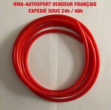 Durite Silicone De Dépression 4mm Longueur 2 M Couleur Rouge