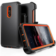 For LG Stylo 5/5 Plus Shockproof Phone Case With Belt Clip Fit Otterbox Defender