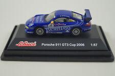 Schuco Modellauto 1:87 H0 Porsche 911 GT3 Cup 2006