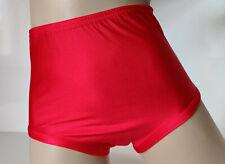 Scarlet Red Netball Cheer Panties Knickers School Sports Gym S