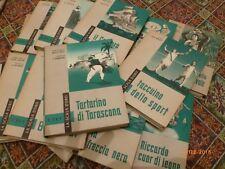 RACCOLTA N.15 LIBRI LA SCALA D'ORO SERIE VII RAGAZZI 12 ANNI  ANNO 1959/60
