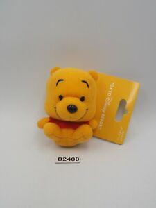 "Winnie The Pooh B2408 Tokyo Disney Resort 3"" Mascot Plush TAG Toy Doll Japan"