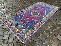 Handmade rug, Area rug, Turkish rug, Vintage rug, Wool, Carpet | 3,2 x 6,4 ft