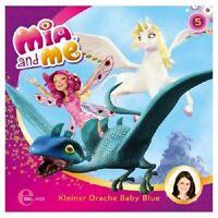 MIA AND ME - (5) KLEINER DRACHE BABY BLUE  CD KINDER-HÖRSPIEL ZUR TV-SERIE  NEU