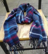M&S Ladies Checked Scarf BNWT