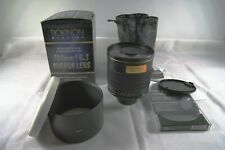 Pentax  fit  Rokinon 500mm f6.3 telephoto mirror lens with lens hood and CPL