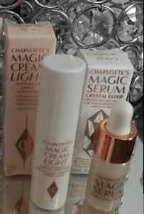 Charlotte Tilbury Magic Cream Light & Serum minis ❤️❤️