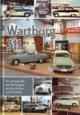 Book - Wartburg 311 - Coupe Kombi Camping 312 1000 HT Cabrio IFA EMW BMW 353