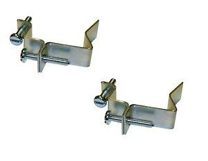 2 x External Stabilisers Clip - Blakes External Building Profile c/w Screws BZP