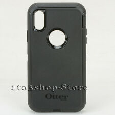 OtterBox Defender iPhone X iPhone 10 Hard Shell Case Cover w Belt Clip Black