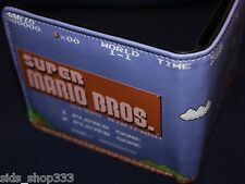 Super Mario Brothers bi fold wallet Nintendo US Seller great gift