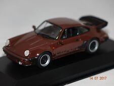 Porsche 911 Turbo 3.3  930 braun 1:43 MaXichamps Minichamps 940069001 neu & OVP