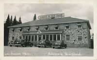 LAC SAGUAY QC – Auberge du Pain Chaud Real Photo Postcard rppc