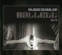 KLAUS SCHULZE - BALLETT 3 & 4 (BONUS EDITION) +20S BOOKLET, 2 BONUS 2 CD NEW