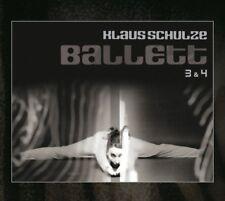 KLAUS SCHULZE - BALLETT 3 & 4 (BONUS EDITION) +20S BOOKLET, 2 BONUS 2 CD NEW+