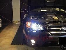 2003-2009 Subaru Legacy BL BP Halo Fog Lamp Angel Eye Driving Light Kit+ Harness