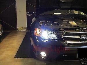 Non-Halo Fog Lamps Driving Light Kit for 2003-2009 Subaru Legacy BL BP