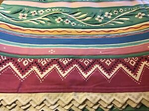 NWOT Collier Campbell Gypsy Dance Twin Size Bed Sheet Flat Opened Package