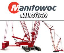 TOS007 Manitowoc MLC650 Lattice-Boom Crawler Crane w/VPC™ 1/50 scale Diecast MIB