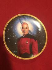 Star Trek Captain Jean-Luc Picard Tng Plate Hamilton Collection 4309 L
