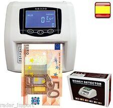 Contador detector de billetes falsos automático lcd para euros NUEVOS billetes