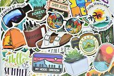 50 Random Waterproof Vinyl Stickers for Hydro Flask Laptop Car Bumper Luggage