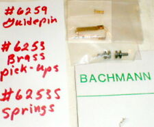 1 kit Guide Pin Springs Brass Pick-ups Bachmann Bros Supertrax slot car 1/32 NOS