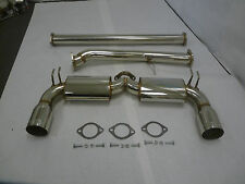 OBX Catback Exhaust For 2009 To 2012 Mitsubishi Lancer Ralliart 2.0L Turbo 4B11T