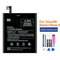 Original Battery BM46 For Xiaomi Redmi Note 3 Note3 Pro 4000/4050mAh Akku +Tools