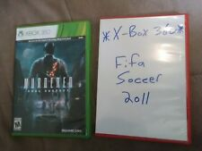 Murdered Soul Suspect Xbox 360 VIDEO GAME LOT Xbox360 FIFA Soccer World Cup 2011