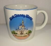 VTG Walt Disney World Cinderella's Castle Ceramic Coffee Cup Mug Made in Japan