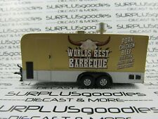 "Johnny Lightning 1:64 Loose 5"" Bbq Concession Food Travel Trailer for Dioramas"
