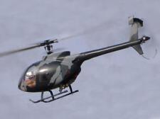 Hughes 500 E -Rumpf für 450er RC-Hubschrauber
