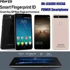 "LEAGOO Android7.0 Mobile Phones Quad Core Dual SIM 5.0"" Smartphone Unlocked UK"