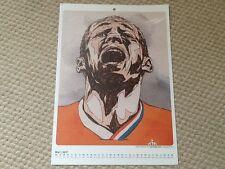 Arjen Robben Netherlands Tschutti Heftli May 2017 calendar print A4 Euro 2012