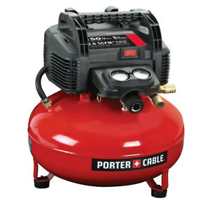 Porter-Cable C2002 0.8 HP 6 Gallon Oil-Free Pancake Air Compressor
