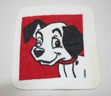 Vintage 90s Walt Disney 101 Dalmatians Bathroom Washcloth  Collectible