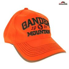 Blaze Orange Hunting Safety Cap Hat Gander Mountain ~ NEW