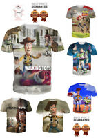 The Walking Dead Toy Story Walt Disney New Funny T-Shirt Unisex 3D Print S-7XL
