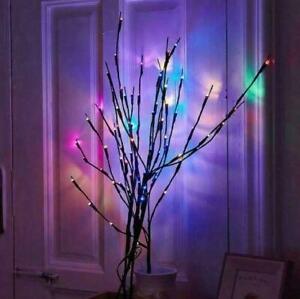 Lichterzweige Bunte Led s Zweig Licht Weihnachten Gartendekoration Lampe
