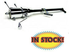 Ididit 1140652020 - 1955-59 Chevy/GMC Pickup Steering Column w/Shifter - Chrome