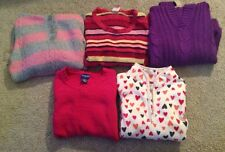 Lot of 5 Girls Sweaters size 10