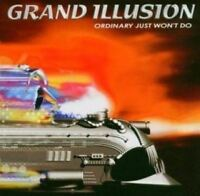 GRAND ILLUSION ordinary just won't do (CD, Album) Hard Rock, very good condition