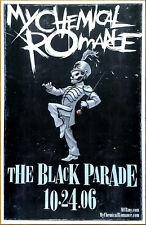 MY CHEMICAL ROMANCE The Black Parade Ltd Ed Discontinued NEW RARE Poster! MCR