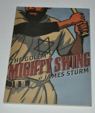 THE GOLEM'S MIGHTY SWING by James Sturm Graphic Novel Comic